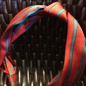 Anthropologie Accessories - Anthropologie Carter Knotted Headband orange green